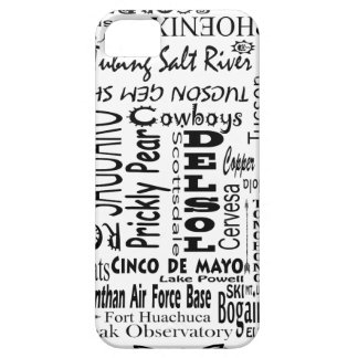 Arizona Buzz Words Barely There iPhone 5 Case