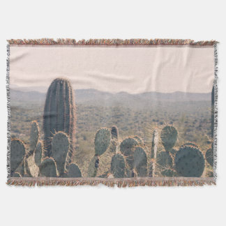 Arizona Cacti  | Throw Blanket