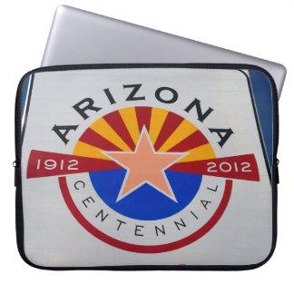 Arizona Centennial Sign Laptop Sleeve