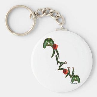 Arizona Chili Peppers Key Ring