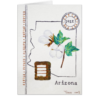Arizona Cotton Card