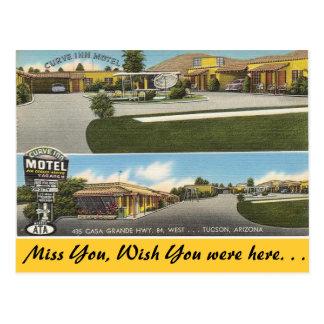 Arizona, Curve Inn Motel Postcard
