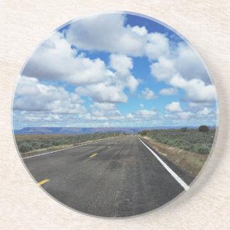 Arizona Desert Road in the southwestern U.S. Sandstone Coaster