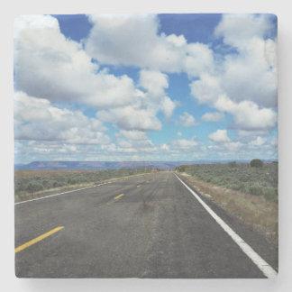 Arizona Desert Road in the southwestern U.S. Stone Coaster