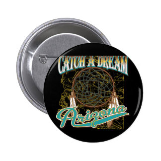 Arizona Dream Catcher 6 Cm Round Badge