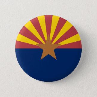 Arizona Flag 6 Cm Round Badge