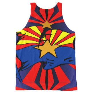 Arizona Flag All-Over Print Singlet