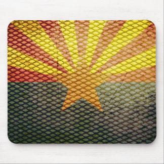 Arizona flag gear mouse pad