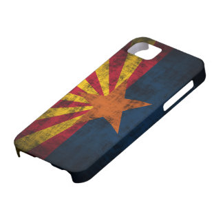 Arizona Flag Grunge iPhone 5 Barely There Case
