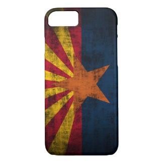 Arizona Flag Grunge iPhone 7 case Barely There Cas