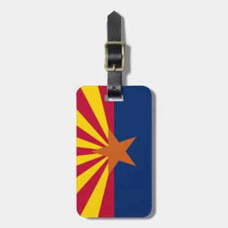 Arizona Flag Luggage Tag