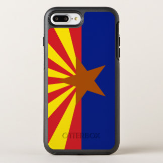 Arizona Flag Otterbox Symmetry Iphone 7 Plus Case