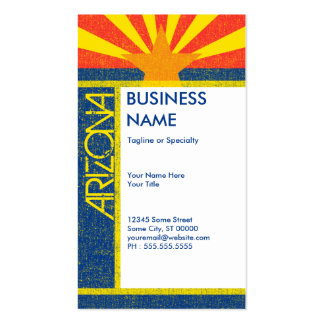 arizona flag pack of standard business cards