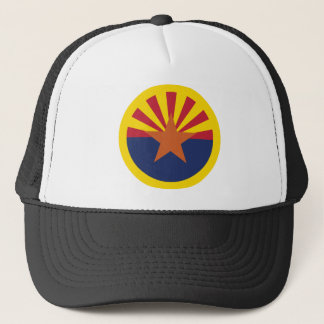 Arizona Flag Theme 00 Trucker Hat
