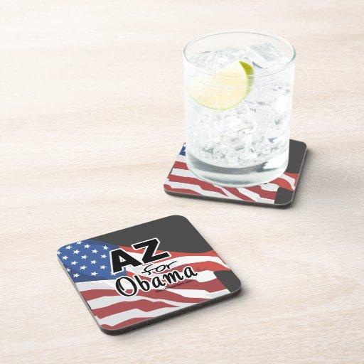 Arizona for Obama Election Drink Coaster