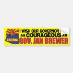 Arizona Governor Jan Brewer Bumper Sticker