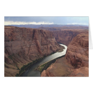 ARIZONA - Horseshoe Bend A - Red Rock Card