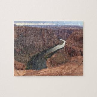 ARIZONA - Horseshoe Bend A - Red Rock Jigsaw Puzzle