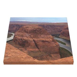 ARIZONA - Horseshoe Bend AB - Red Rock Canvas Print