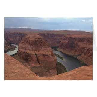 ARIZONA - Horseshoe Bend AB - Red Rock Card