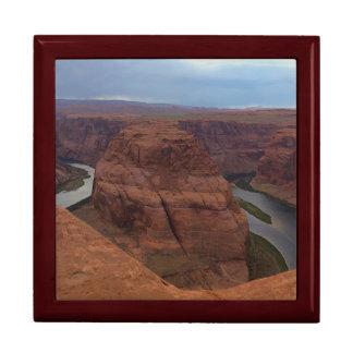 ARIZONA - Horseshoe Bend AB - Red Rock Large Square Gift Box