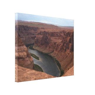 ARIZONA - Horseshoe Bend B - Red Rock Canvas Print