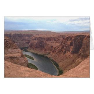 ARIZONA - Horseshoe Bend B - Red Rock Card