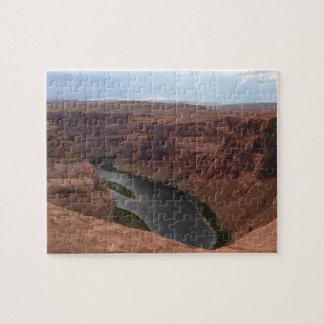 ARIZONA - Horseshoe Bend B - Red Rock Jigsaw Puzzle