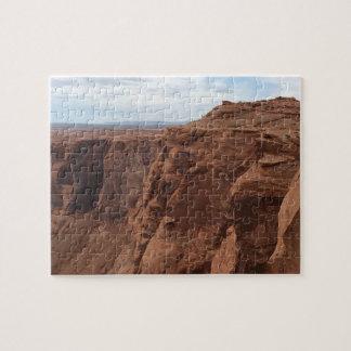 ARIZONA - Horseshoe Bend C - Red Rock Jigsaw Puzzle