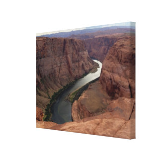 ARIZONA - Horseshoe Bend Canyon A - Red Rock Canvas Print