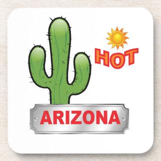 Arizona hot red coaster