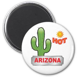 Arizona hot red magnet