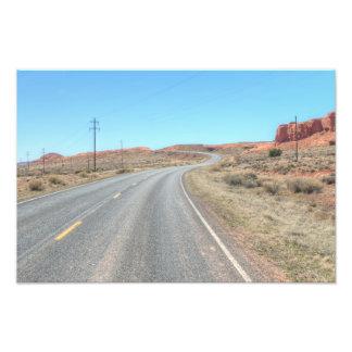 Arizona Indian Route Photo Print