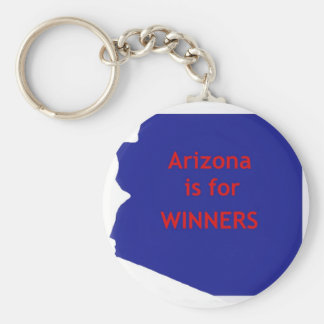 Arizona is for winners key chains