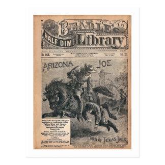 Arizona Joe - Beradle's Half Dime Library Postcard