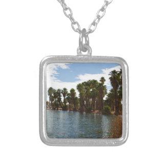 Arizona Lake Silver Plated Necklace