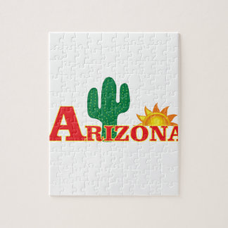 Arizona logo simple jigsaw puzzle