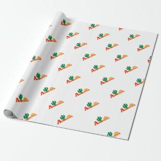 Arizona logo simple wrapping paper
