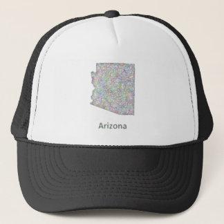 Arizona map trucker hat