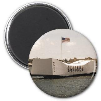 Arizona Memorial Pearl Harbor Magnet