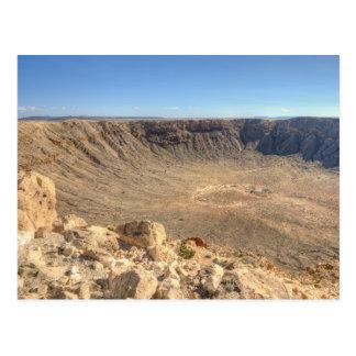 Arizona Meteor Crater Postcard