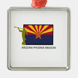 ARIZONA PHOENIX MISSION LDS CTR METAL ORNAMENT