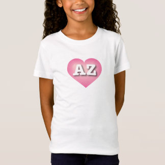 Arizona Pink Fade Heart - Big Love T-Shirt