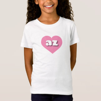 Arizona pink heart - mini love T-Shirt