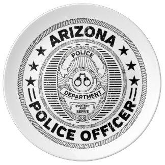 Arizona Police Officer Plate