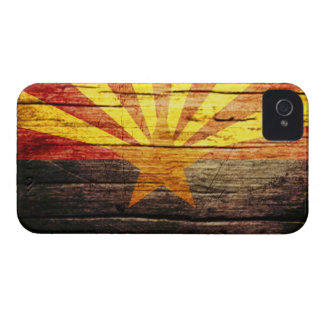 Arizona Rustic old wood Case-Mate iPhone 4 Cases