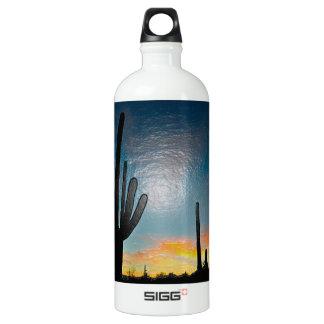 Arizona Saguaro Cactus  Sunset Plastic 3d Art SIGG Traveler 1.0L Water Bottle