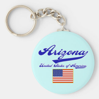 Arizona Script Key Ring