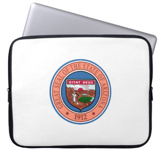 Arizona seal united states america flag symbol rep laptop sleeve
