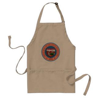 Arizona seal united states america flag symbol rep standard apron